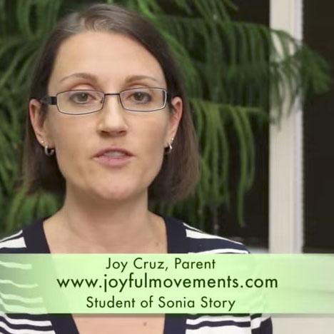 Joy Cruz neuro-reflex movement specialist