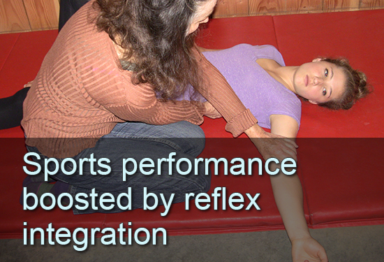 Sports performance boosted by reflex integration